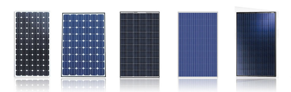 Різні сонячні панелі