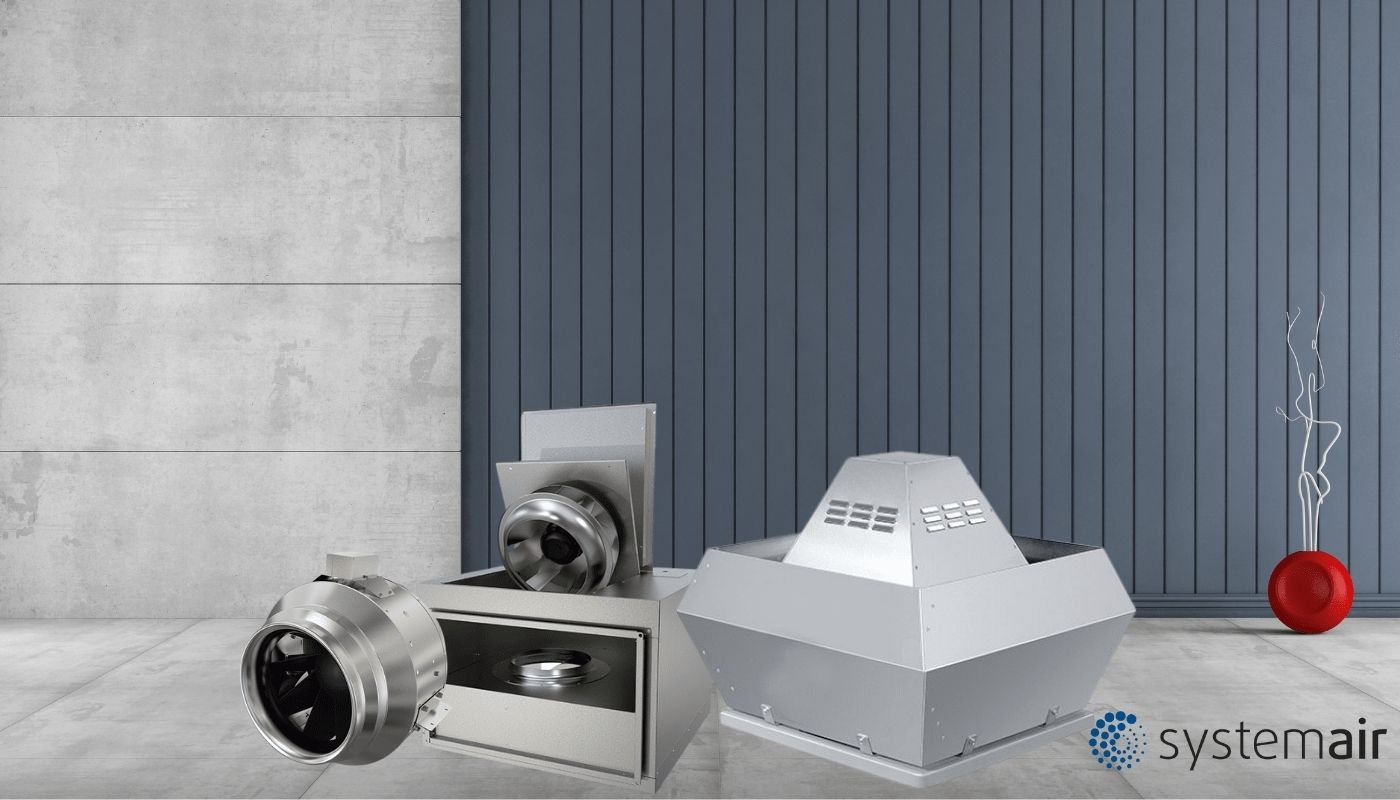 Вентиляційне обладнання Systemair