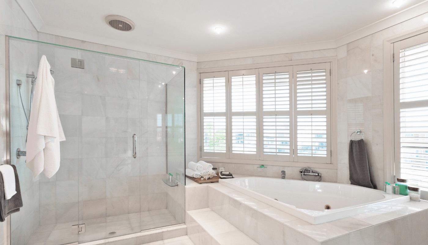Ванная комната с вентиляцией