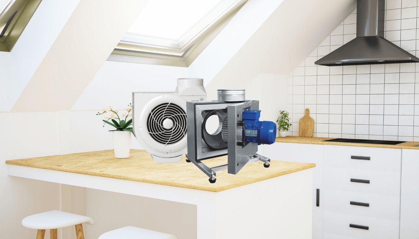 Кухонні вентилятори