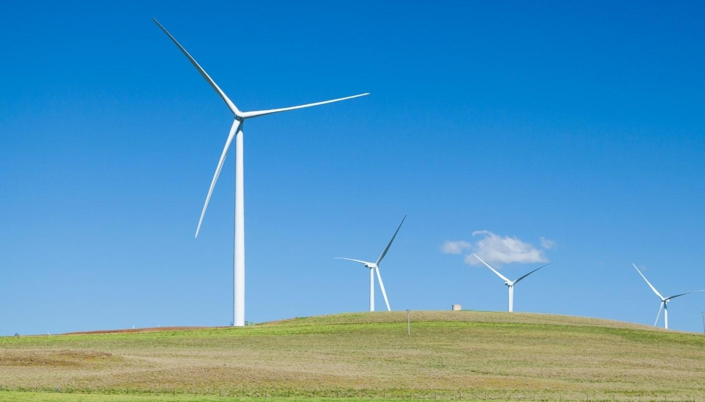 Ветрогенераторы на возвышенности