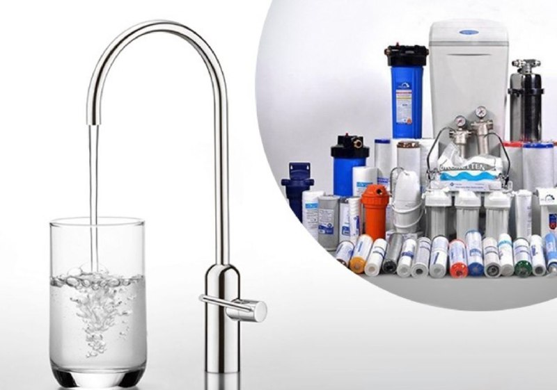 Складові для очищення води в приватному будинку / квартирі