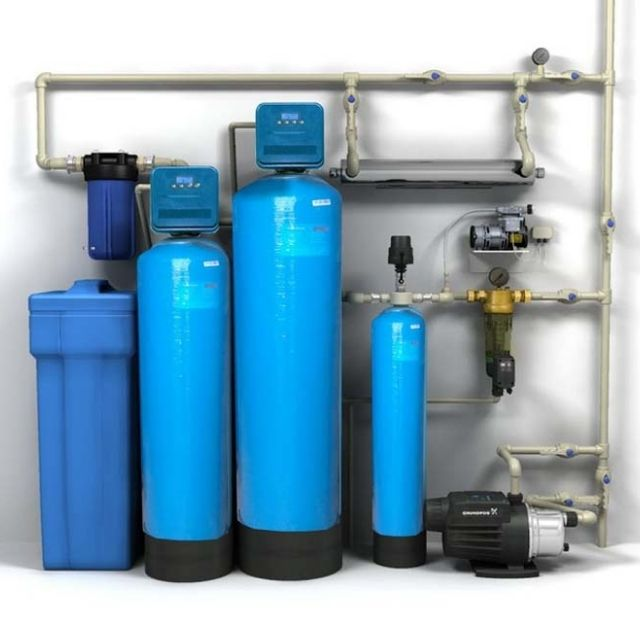 Система водоочищення для приватного будинку