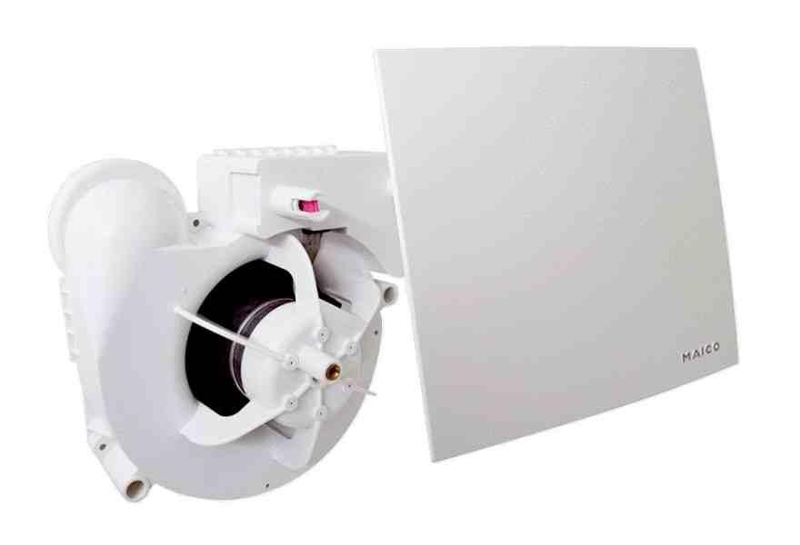 Нові витяжні вентилятори Maico ER E
