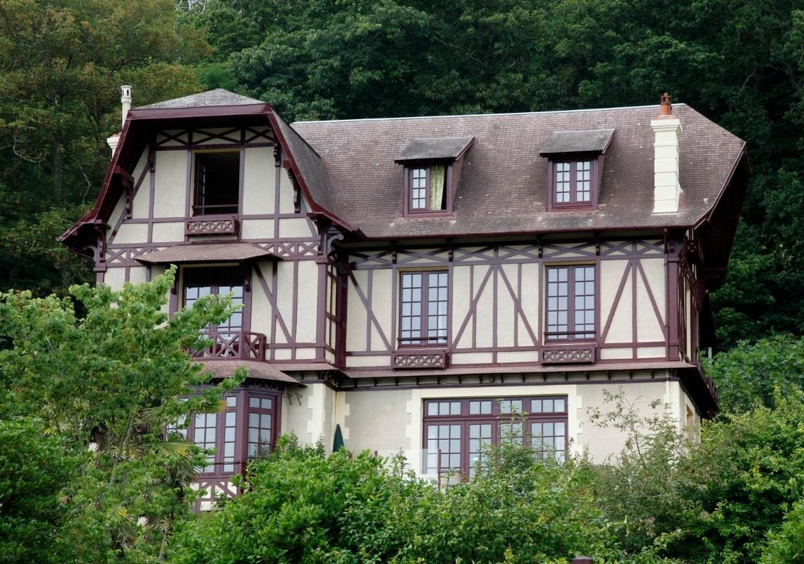 Класичний каркасний будинок, вентиляція