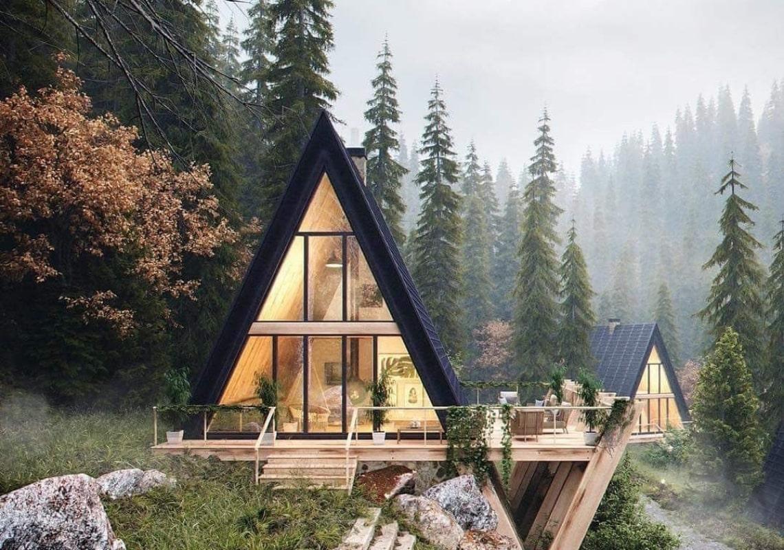 Каркасний будинок з вентиляцією