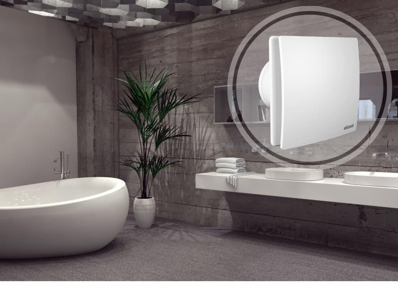 Витяжний пристрій Elicent Elegance для ванної кімнати