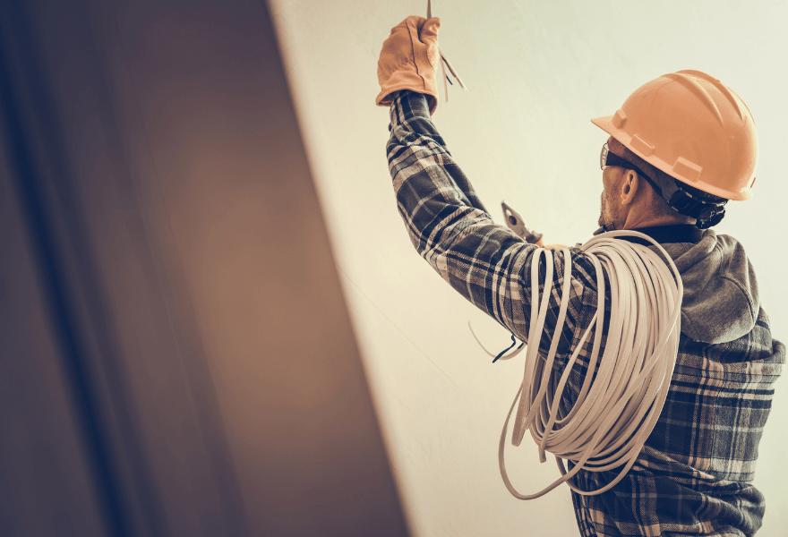 Монтаж електропостачання в будинку/квартирі