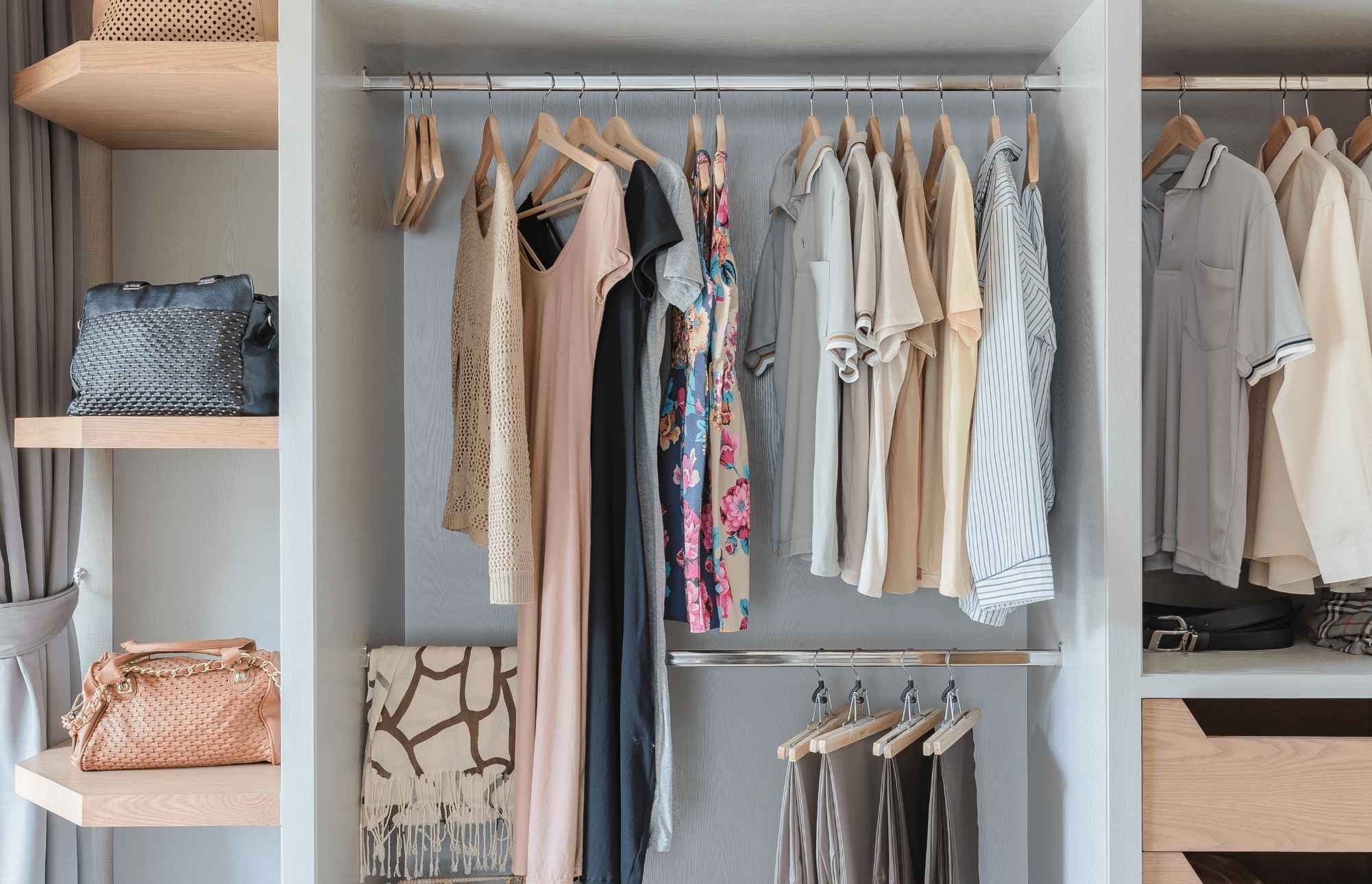 Вентиляция гардероба: правильная реализация