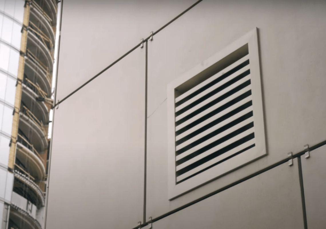Решетка от вентилятора