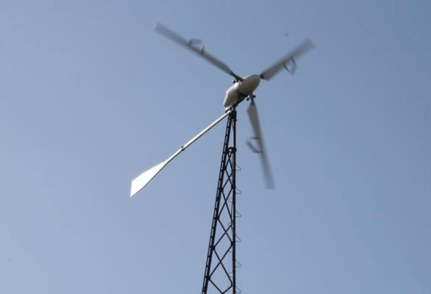 Работающий ветрогенератор FLAMINGO AERO