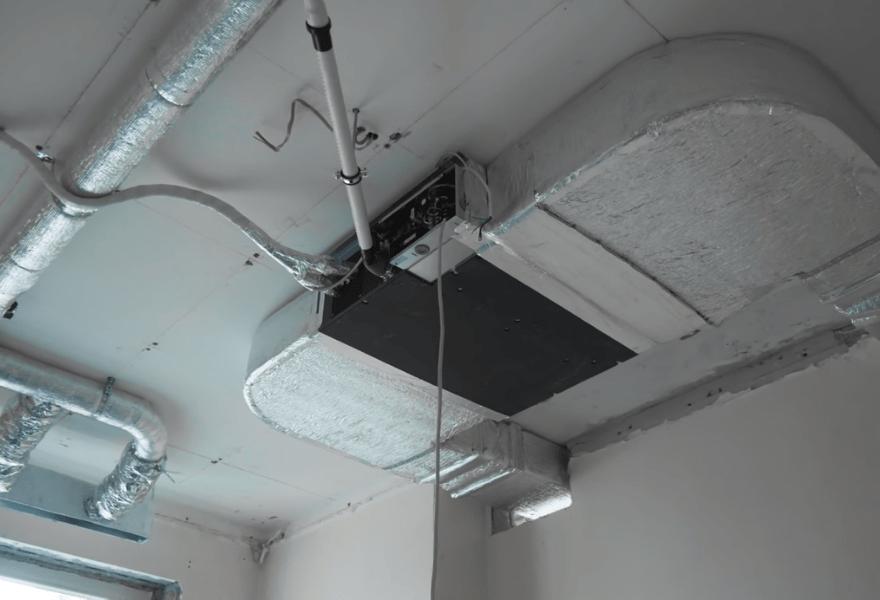 Канальный блок системы кондиционирования