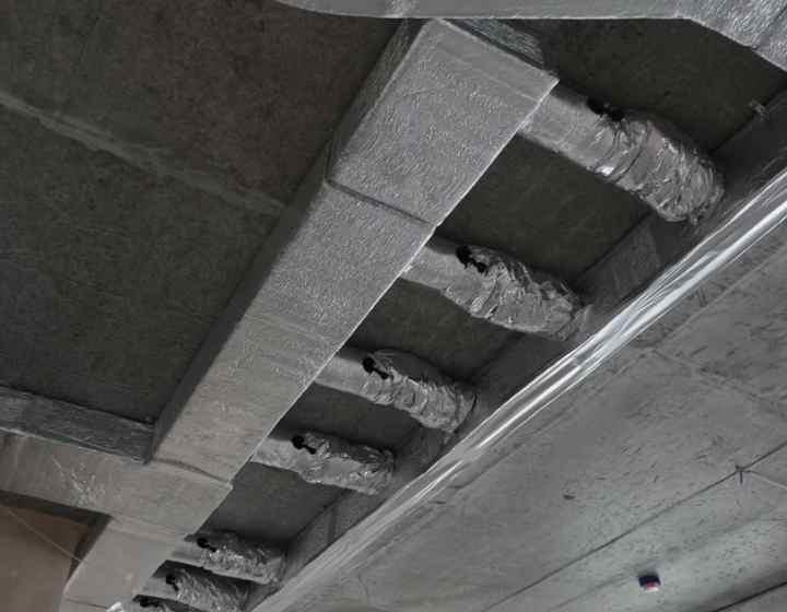 Можтаж повітропроводів у квартирі
