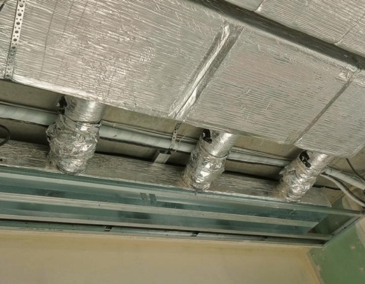 Повітроводи (монтаж системи вентиляції у квартирі)