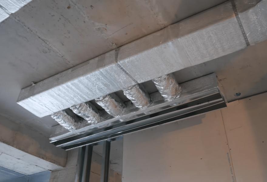 Система повітропроводів в квартирі