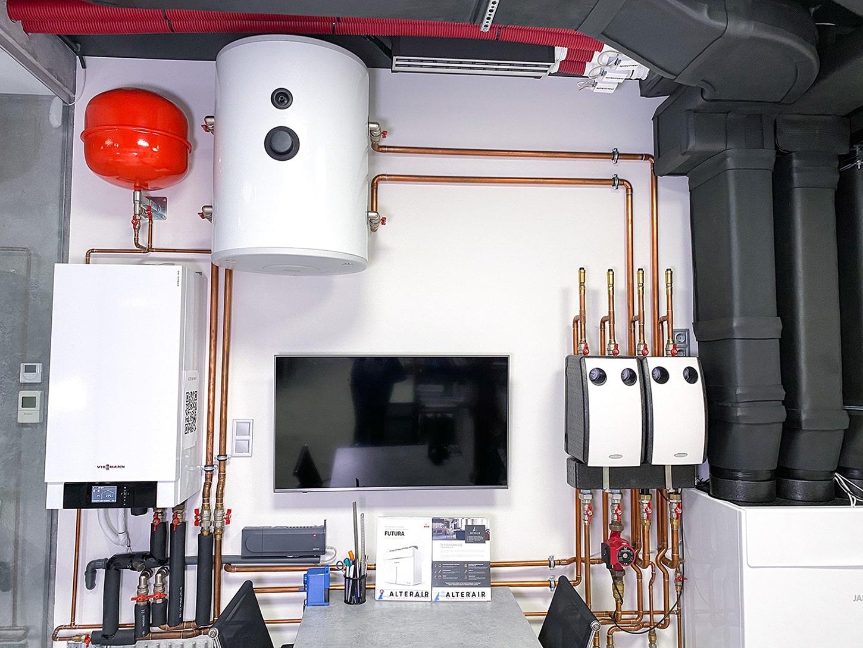 Отопительное оборудование в Альтер Эйр