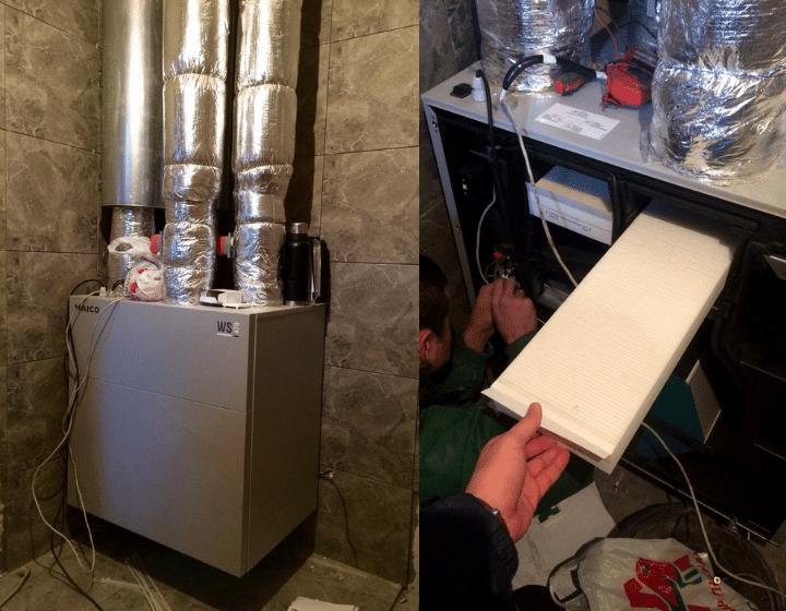 ПВУ с рекуперацией тепла немецкого производителя Maico