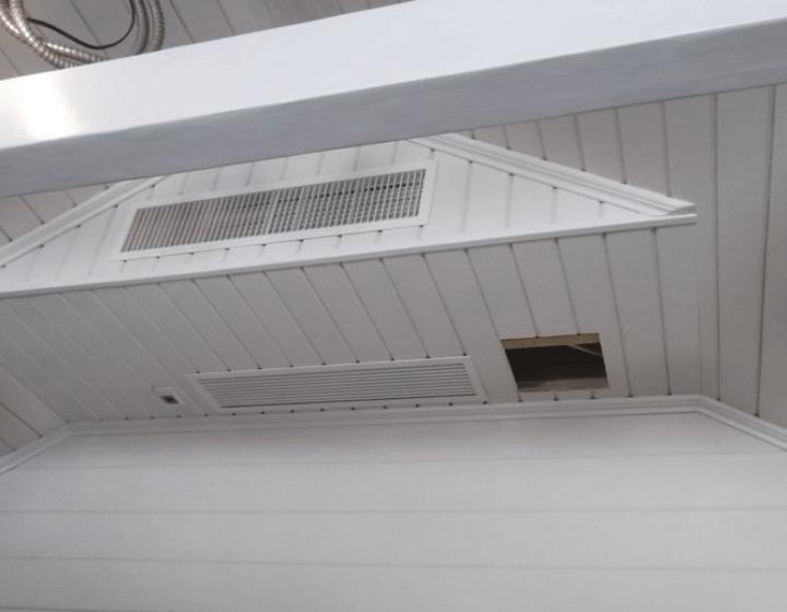 Забірні і припливні решітки для розподілу повітря