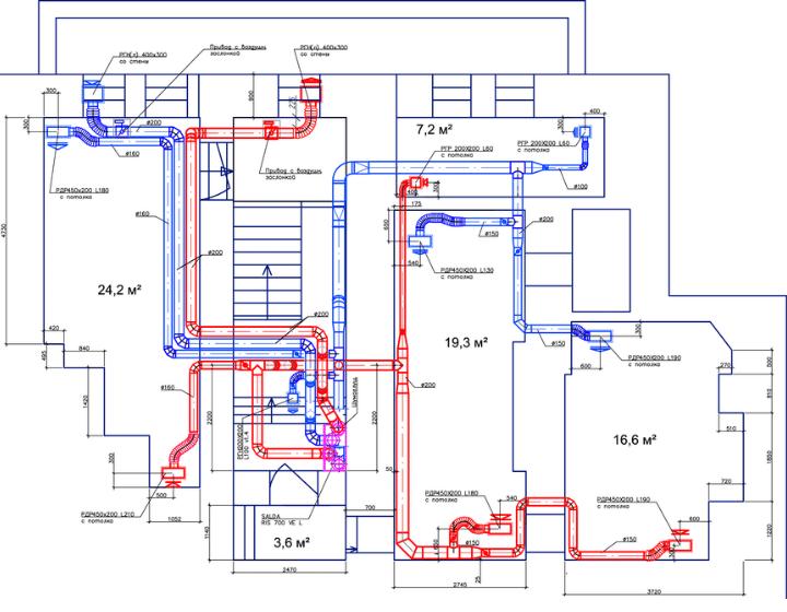Вентиляція офісу у підвальному приміщеннні - рішення від Альтер Ейр