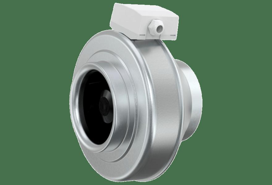 Канальный вентилятор Systemair Sileo K 100 M (вид сбоку)