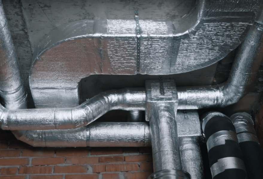 Система воздуховодов в доме