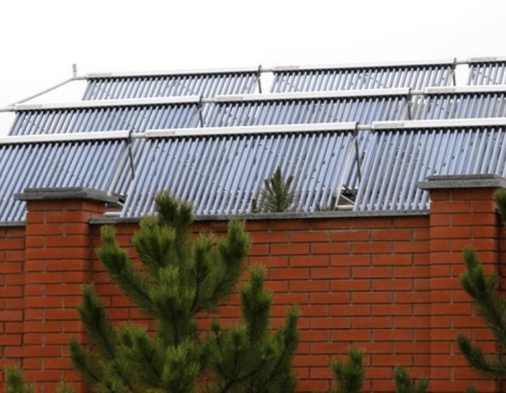 Геликоллекторы на крыше