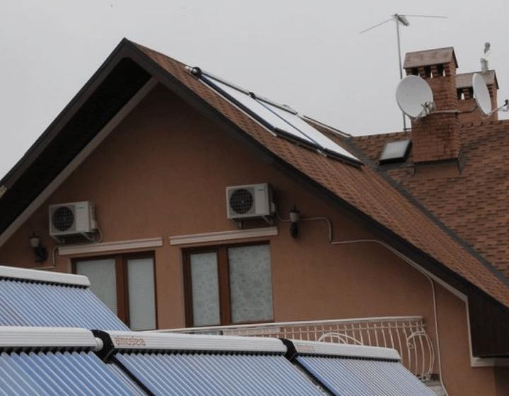 Коллекторы на крыше (2 шт)