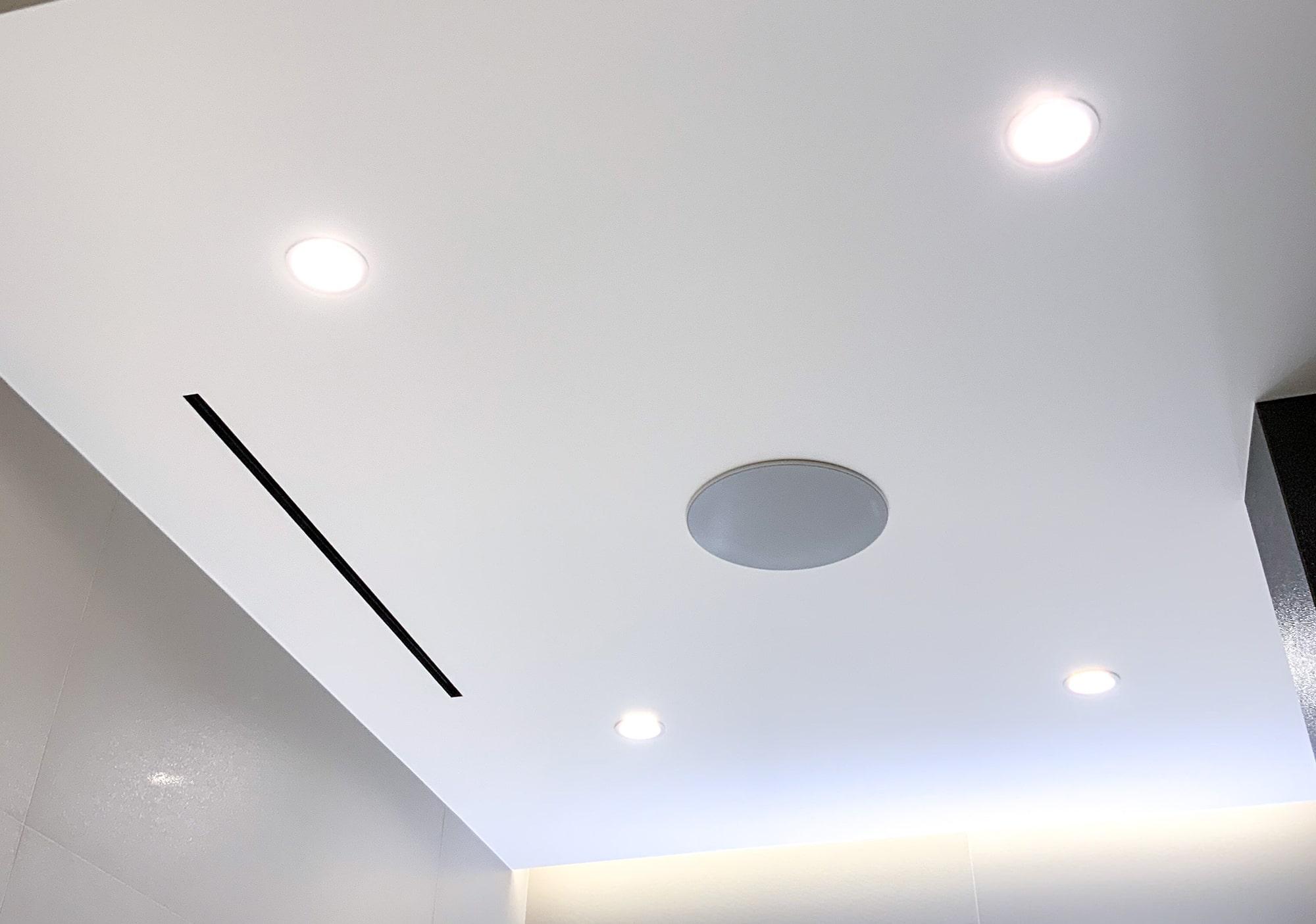 Свет и диффузоры на потолке