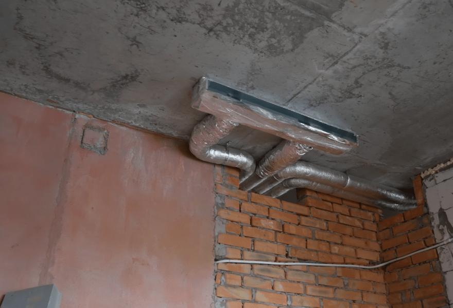 Воздуховоды в квартире