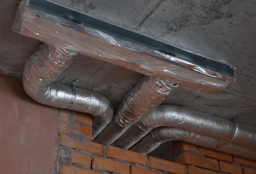 Воздуховоды (вентиляция квартиры)