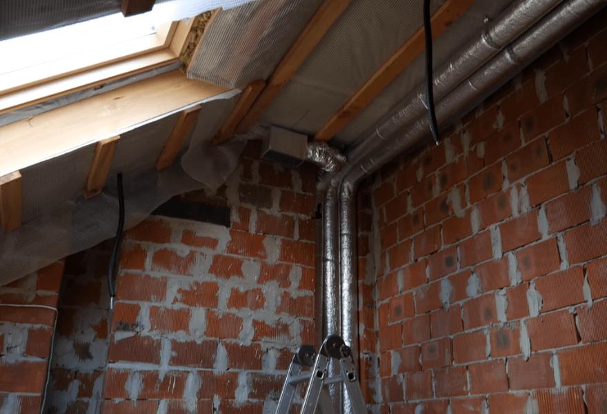 Система повітропроводів в будинку