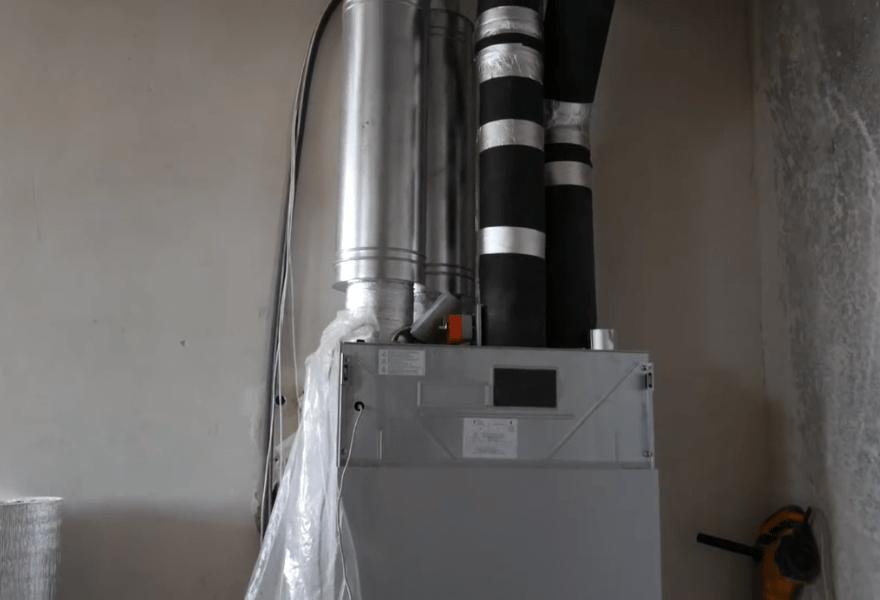 Монтаж приточно-вытяжной установки Maico