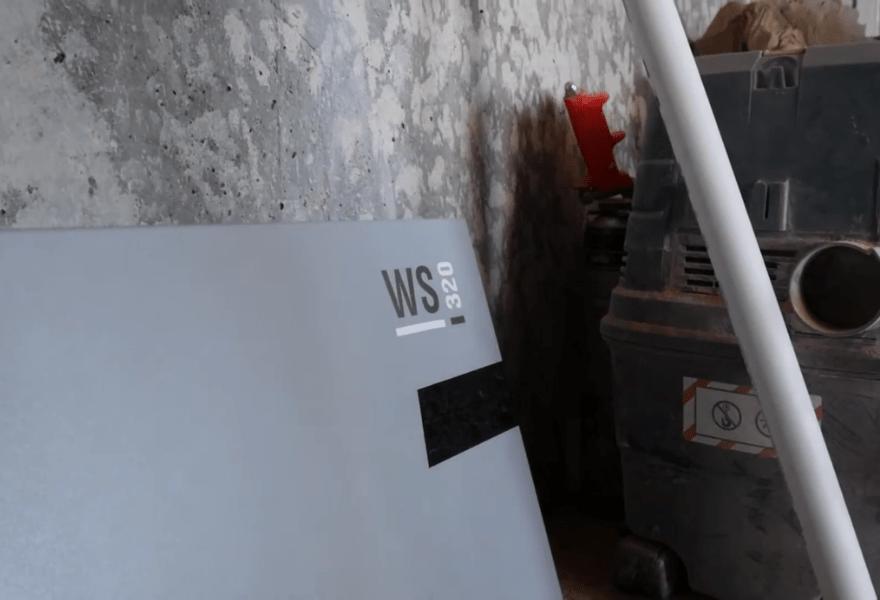 Монтаж вентиляционной установки Maico WS 320