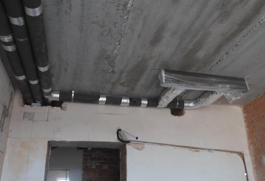 Система повітропроводів у квартирі