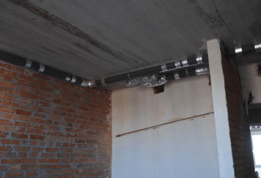 Система вентиляції (монтаж повітроводів)