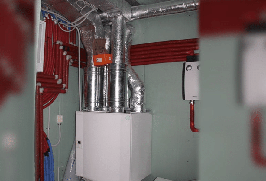 Приточно-вытяжная установка Systemair Save VTC 300