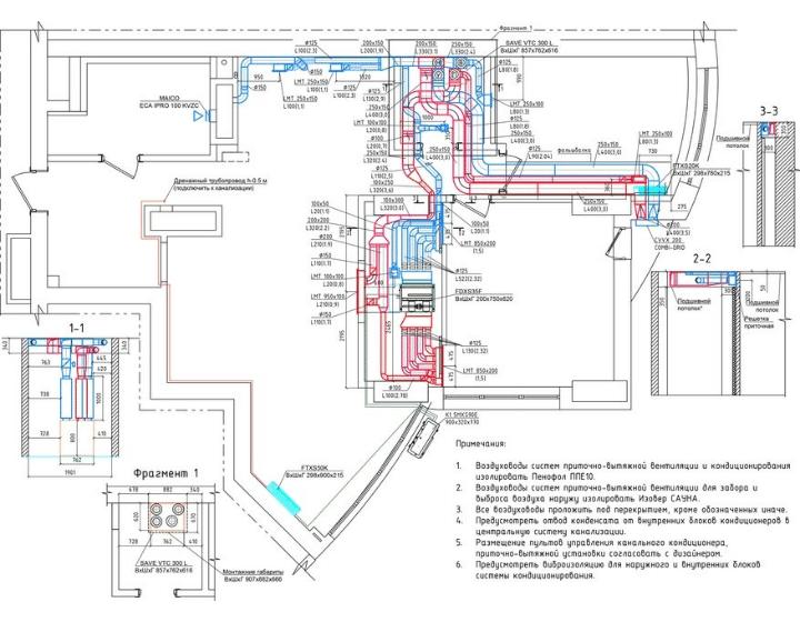 Проєкт системи вентиляції квартири