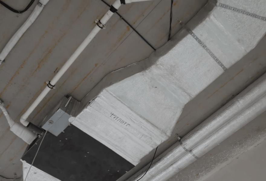 Внутрішній блок кондиціонера канального типу