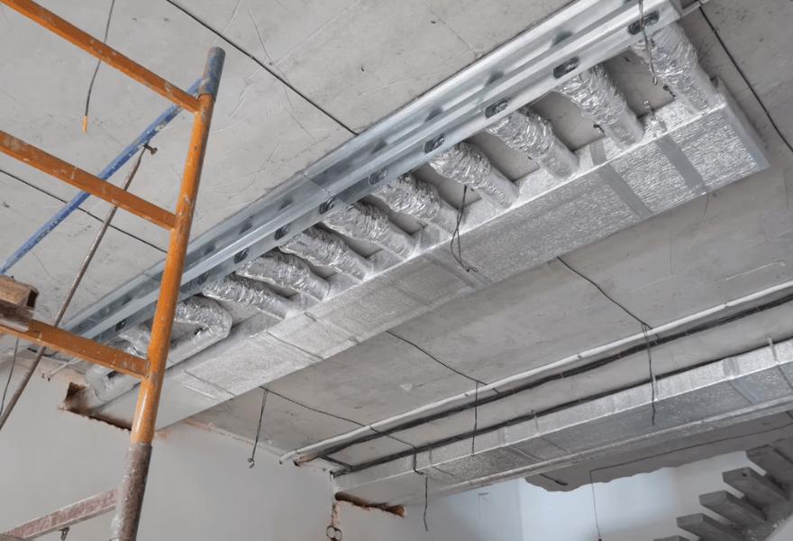 Монтаж повітроводів в квартирі