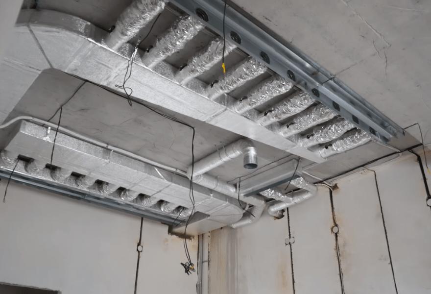 Система повітроводів у квартирі