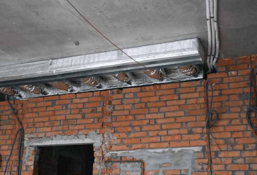 Система воздуховодов в квартире