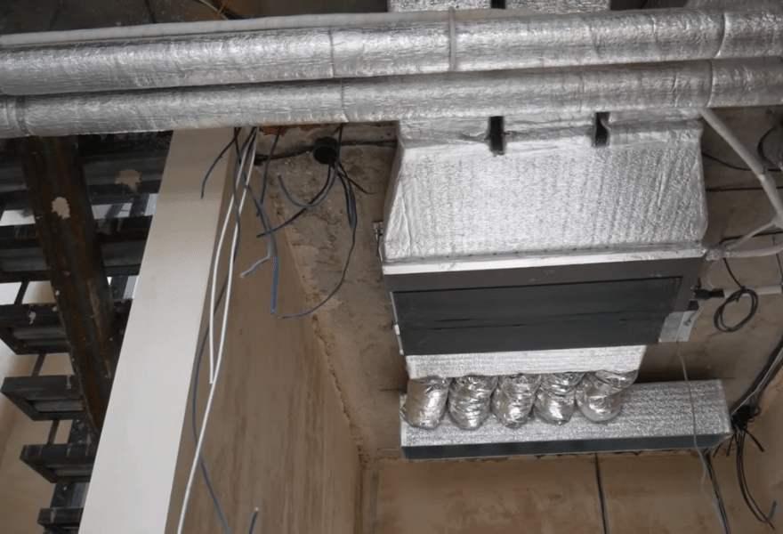 Система кондиціонування (канальний блок)