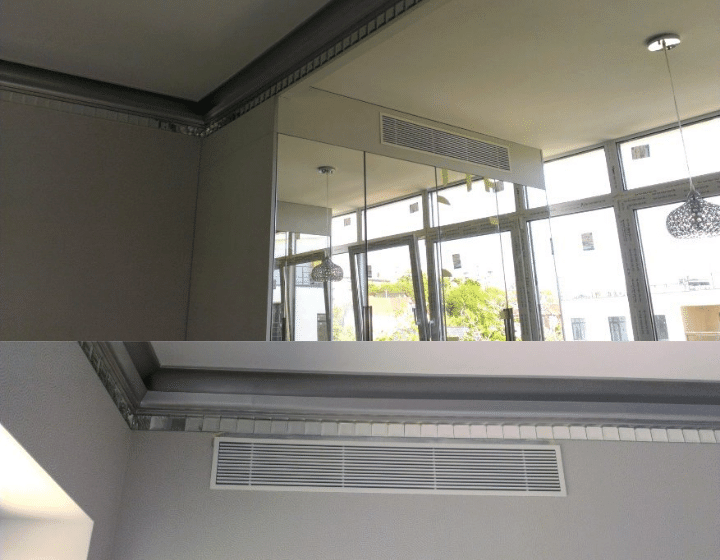 Решетки для подачи воздуха