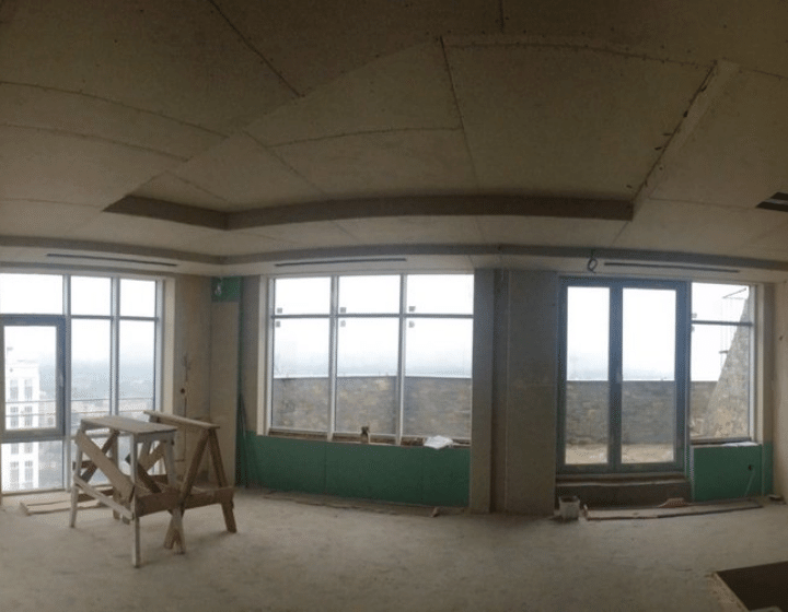 Квартира на етапі встановлення обладнання