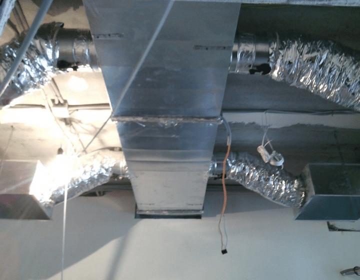 Монтаж воздуховодов