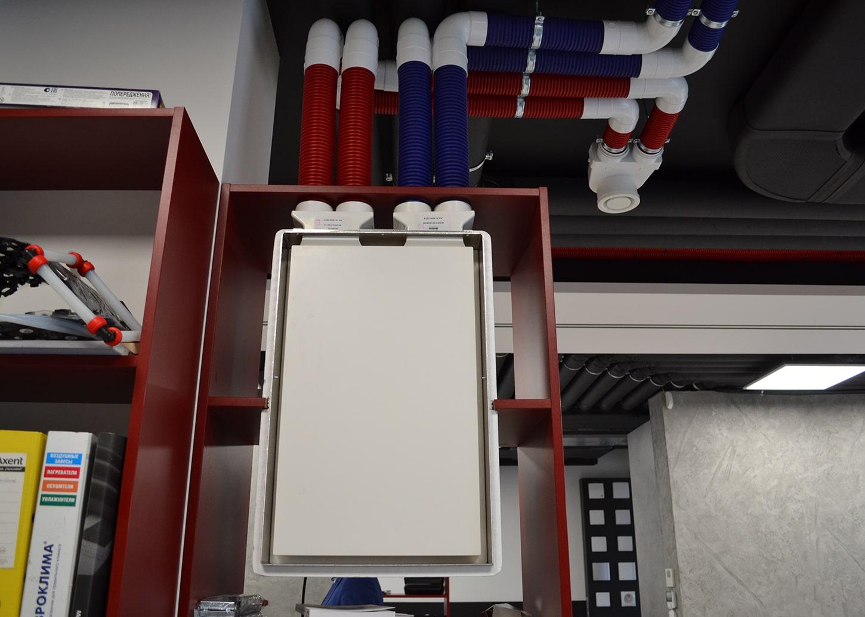 Вентиляционная установка для децентрализованной вентиляции
