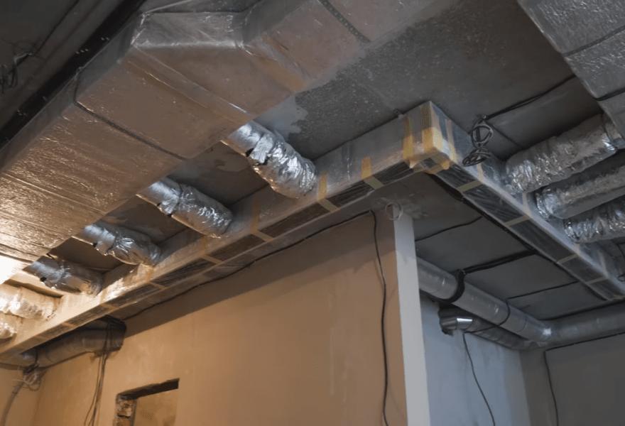 Розміщення повітропроводів в квартирі