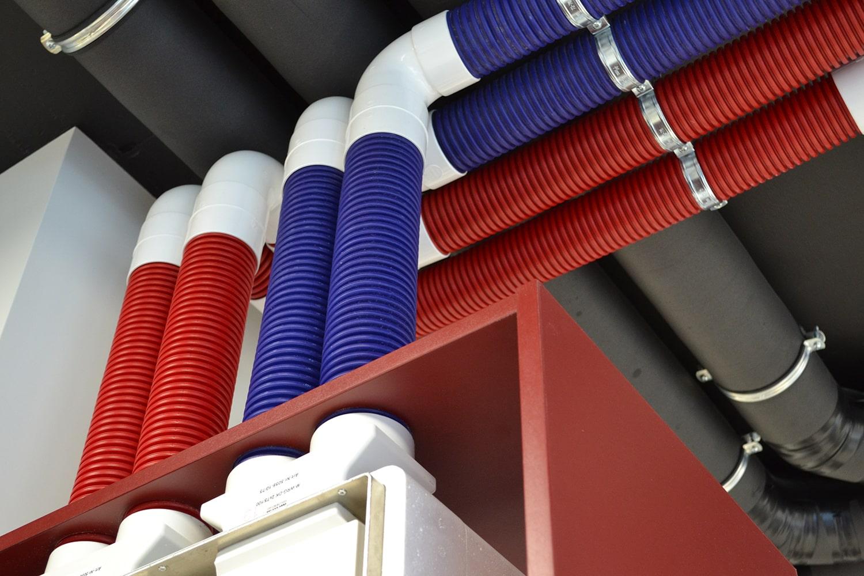 Воздуховоды для децентрализованной системы вентиляции