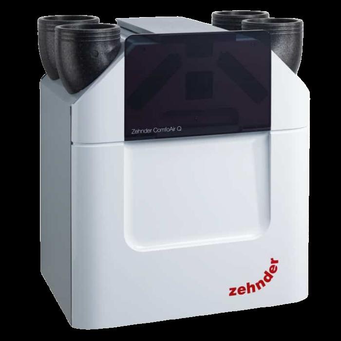 Припливно-витяжна установка з рекуперацією тепла Zehnder ComfoAir Q450 TR enthalpy