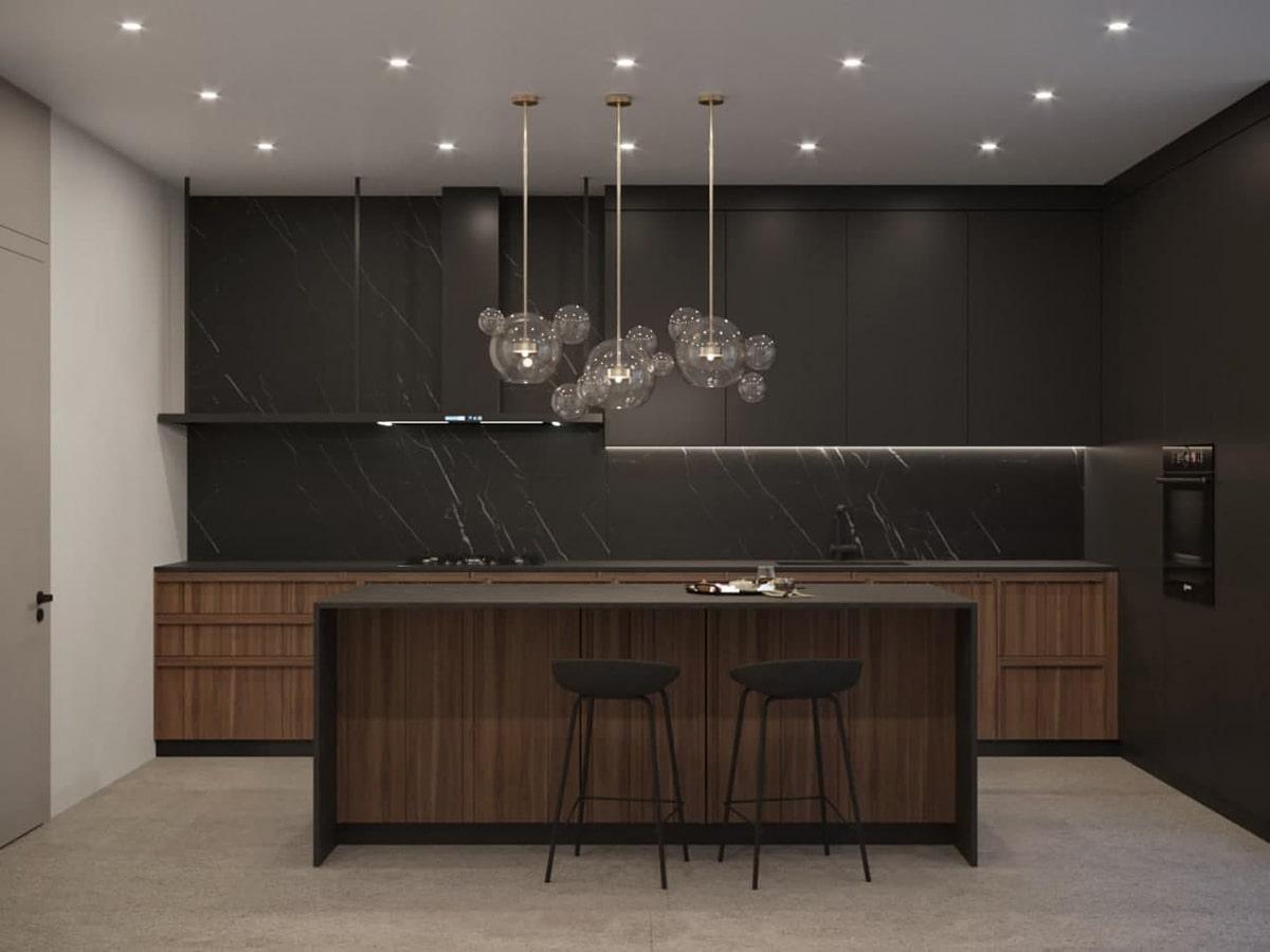 Общий проект Alter Air и Sushko Architect  -  дом в коттеджном городке Riviera Village